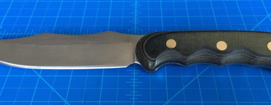 My first mostly successful knife.
