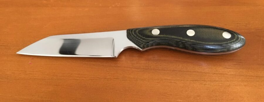 Picture of my Warnecliff design utility knife.